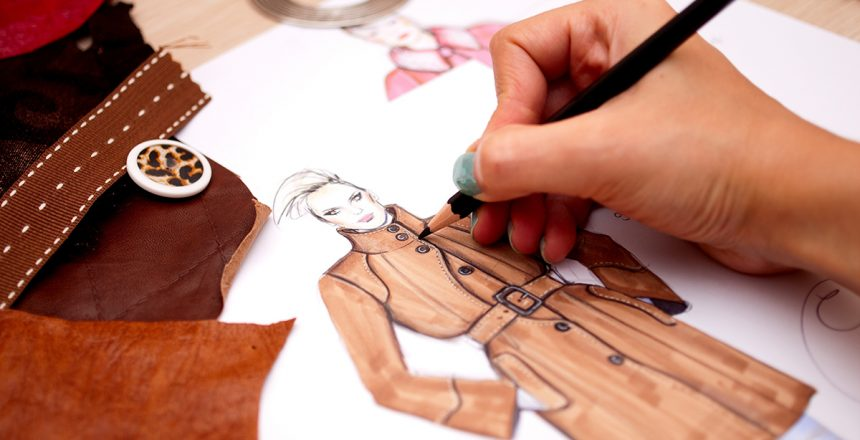10880534 - fashion designer